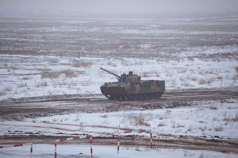 В Волгоградской области испытали новую БМД-4М