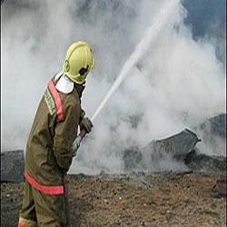 Пожар в Камышине