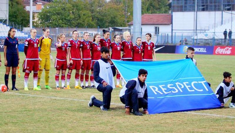 Женская сборная России начала подготовку к матчу с Турцией