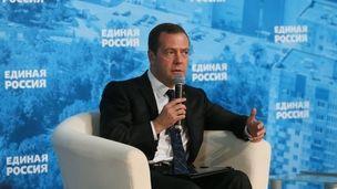 Медведев встретился с предпринримателями