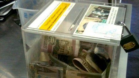 24-летний хуторянин вырвал из рук прихожанки ящик с пожертвованиями и скрылся