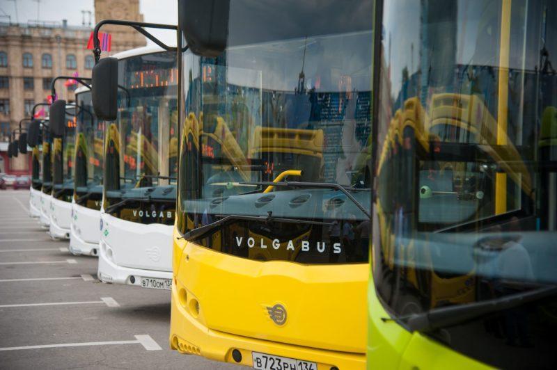 В Волгограде продолжается обновление автобусного автопарка