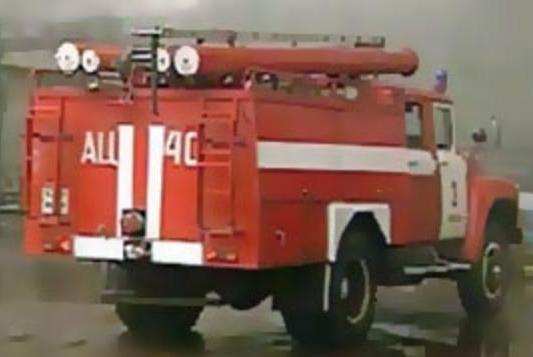 Ночью пожарные тушили Фольксваген