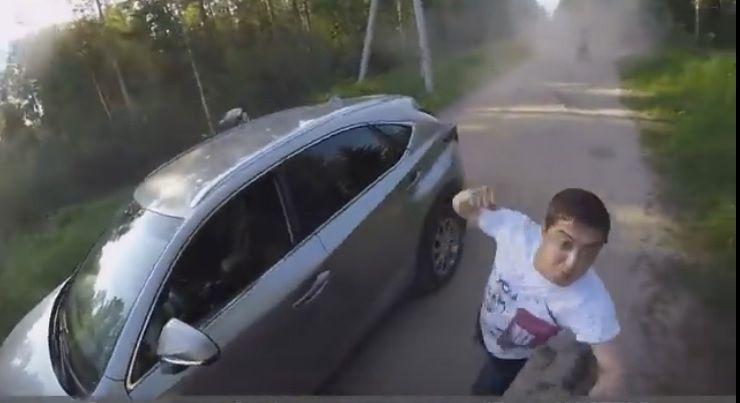 В Подмосковье пьяный участник праймериз «Единой России» напал на эндуриста