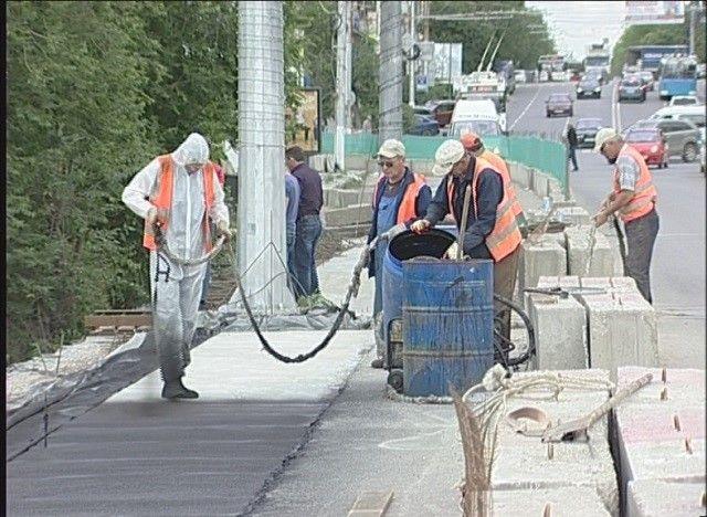 Ремонт Комсомольского путепровода входит в завершающую стадию