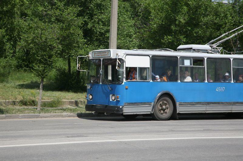 В Волгограде троллейбусный маршрут № 1 изменится на 5 дней