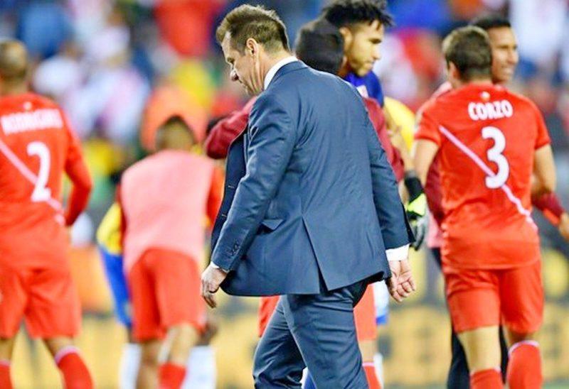 Главный тренер сборной Бразилии Дунга отправлен в отставку