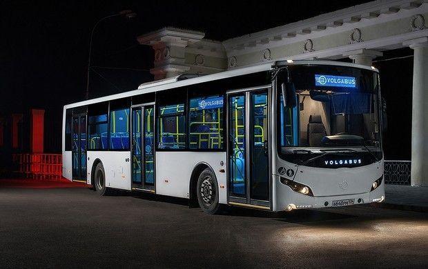 В Волгограде представили впервые в мире и России беспилотный автобус «Volgabus»