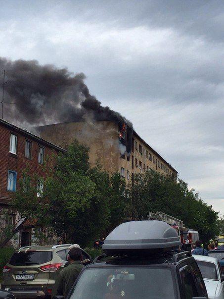 В многоквартирном жилом доме произошел взрыв