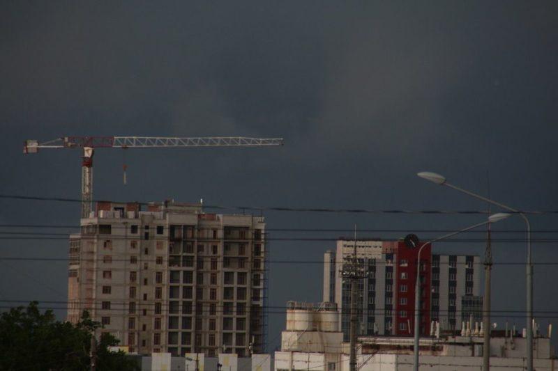 На Волгоградскую область идут грозы и ливни с градом
