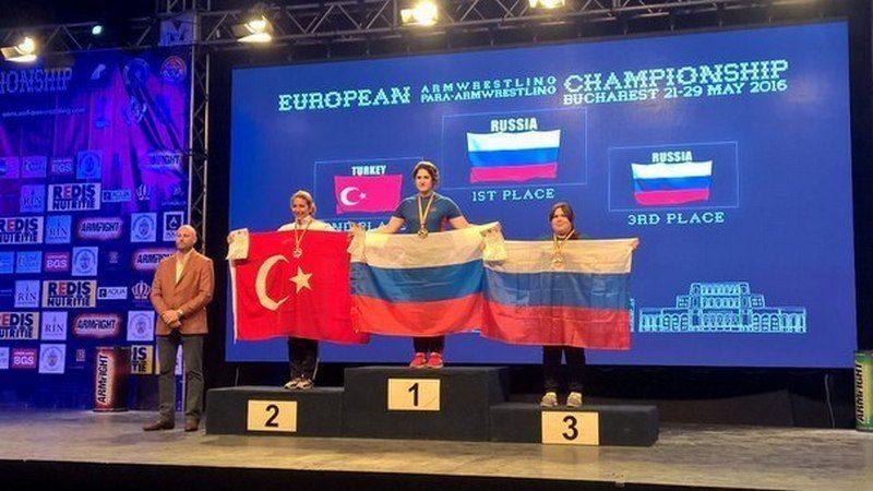 Волгоградка Надира Отарова завоевала две золотые медали