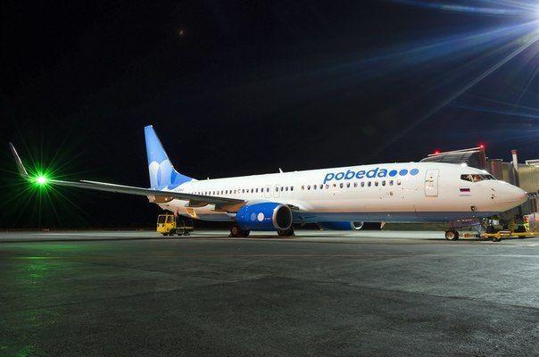 Боинги авиакомпании «Победа» преследуют неприятные инциденты