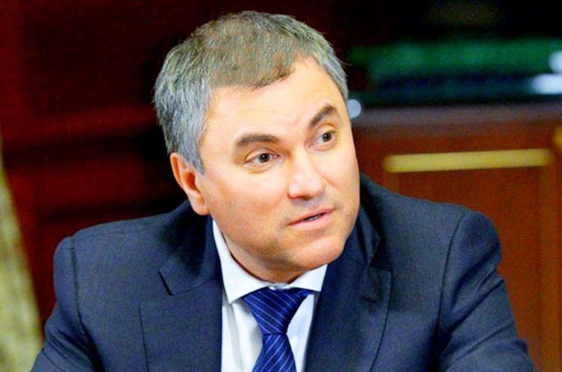 Вячеслав Володин кандидат в Госдуму от Волгоградской области