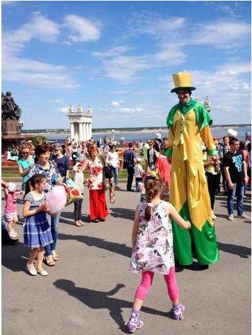 В Волгограде состоялся Фестиваль цирковых искусств