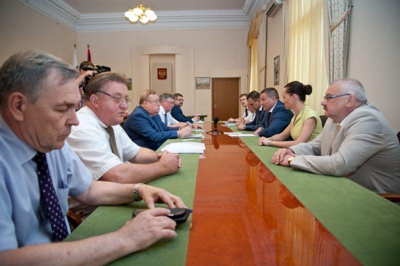 Андрей Бочаров обсудил перспективы развития высшего образования в регионе