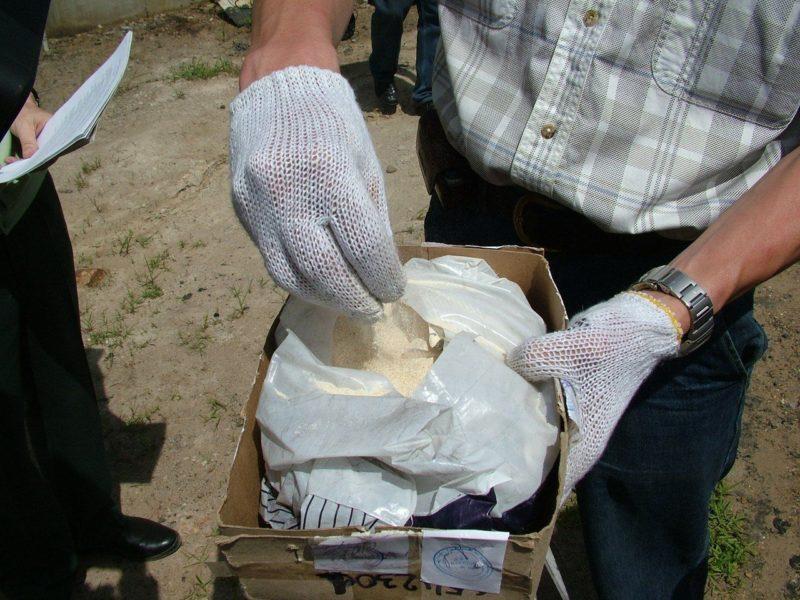 Пассажир автобуса пытался провести в Волгоград 2 килограмма синтетического наркотика