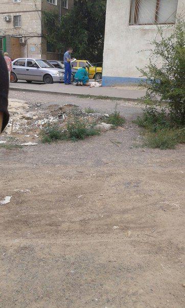 В Волгограде на улице Хорошева пенсионерка выбросилась из окна