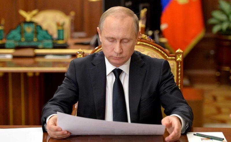 Владимир Путин объединил Крым и Южный федеральный округ