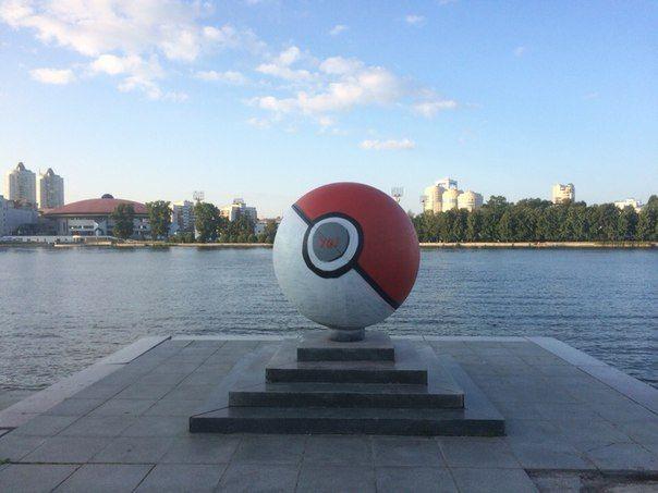 Екатеринбургский покебол заметили в Америке