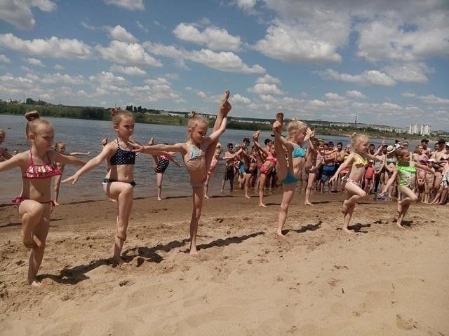 В Волгограде состоялось открытие самого экологически чистого пляжа