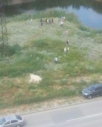 В пруду Дзержинского района обнаружено тело мужчины с 24-килограммовой гирей на шее