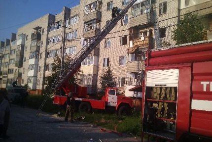 Под Брянском в многоэтажном доме прогремел взрыв