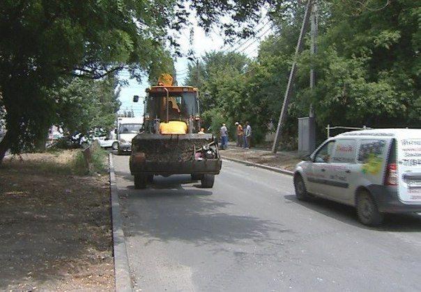 В Волгограде завершился дорожный ремонт улицы Бурейской