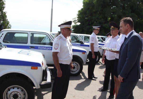 Волгоградские полицейские получили 35 новых патрульных автомобилей