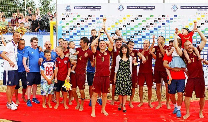 Сборная России выиграла первый этап Евролиги – 2016