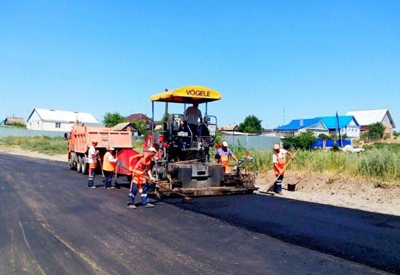 В селе Песчанка идет полноценный ремонт дороги