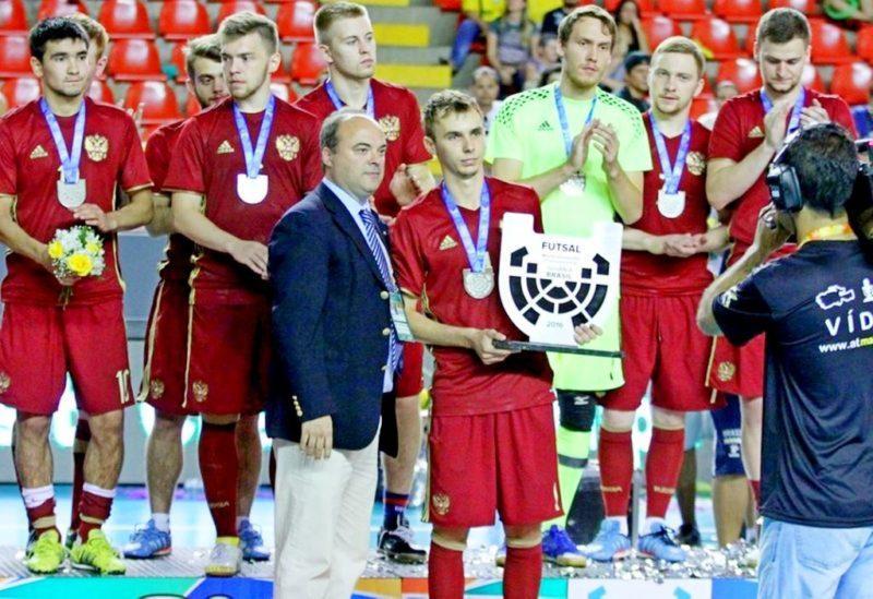 Сборная России серебряный призер Чемпионата мира – 2016