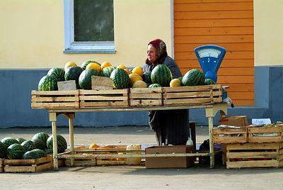 В Волгограде определили места для продажи арбузов и дынь
