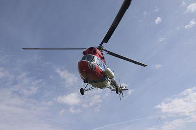 Под Воронежем упал вертолет с детьми