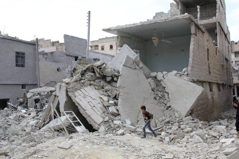 Россиянка пострадала от взрыва в Сирии, прикрывая собой детей