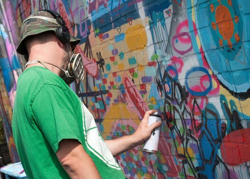 Волгоградские власти решили утолить тягу молодежи к стрит-арту