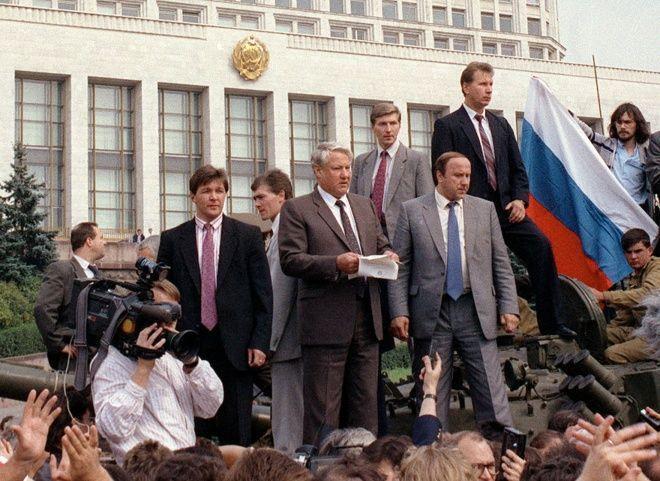 Четверть века назад в СССР произошел «августовский путч»