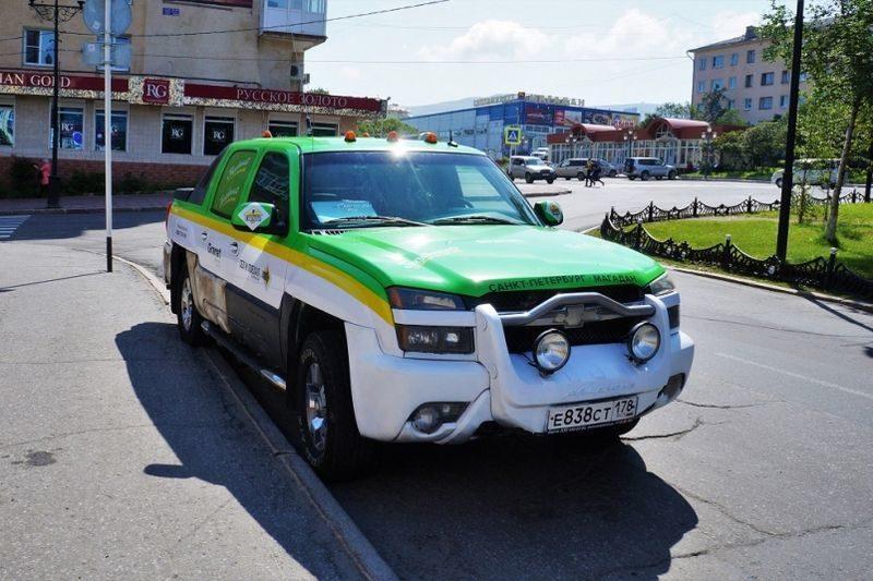 Житель Санкт-Петербурга доехал до Магадана на такси за 233 тысячи рублей