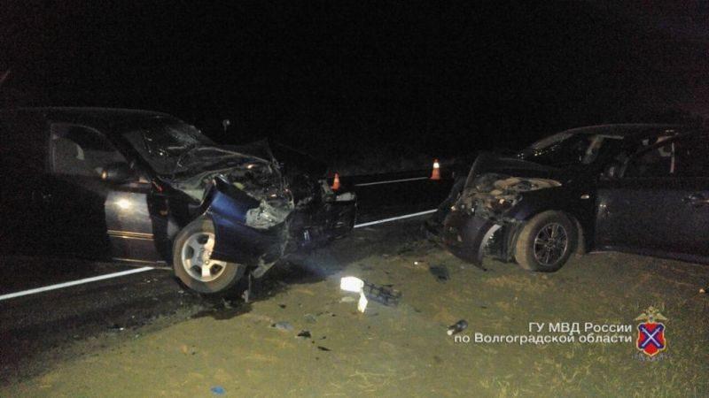 В Городищенском районе столкнулись две иномарки: есть пострадавшие, в том числе 4-летний ребенок