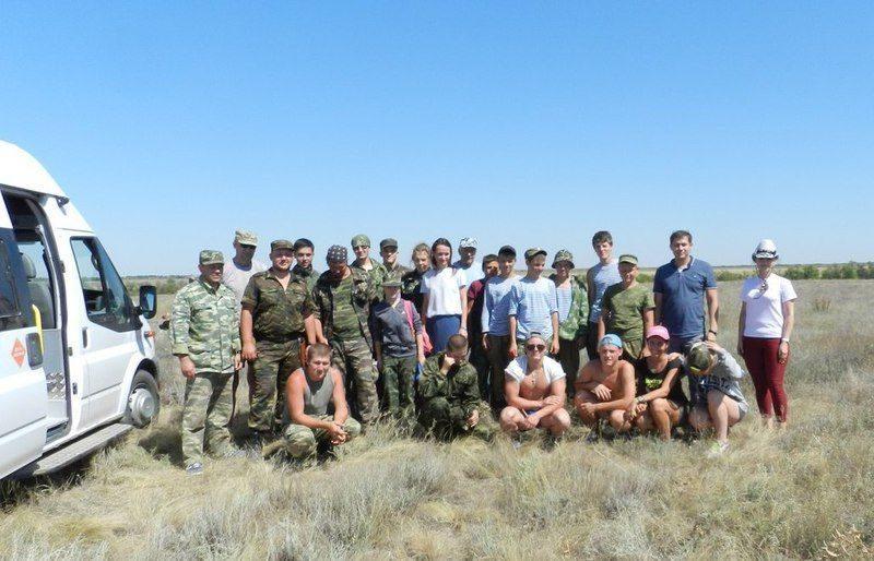 В Волгоградской области начала работу межрегиональная поисковая экспедиция