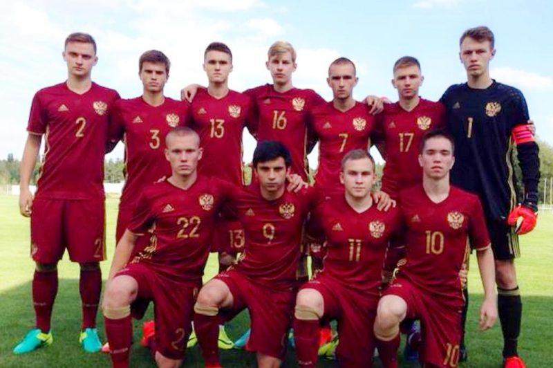Сборная России U17 заняла пятое место в Чехии