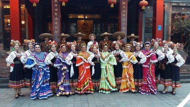 Волгоградские танцовщицы показали Китаю красоту русского народного танца