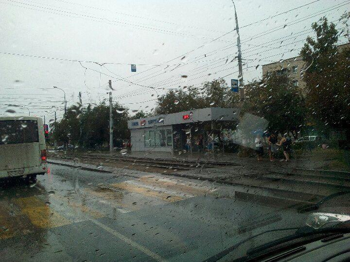 В Красноармейском районе парализовано трамвайное движение