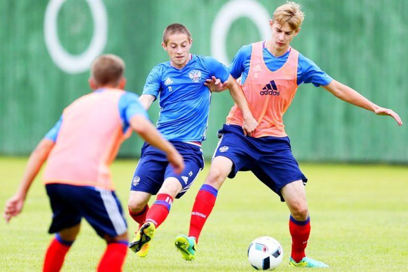 Российские юноши начали тренировочный сбор