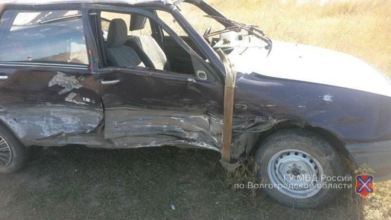 В ДТП в Николаевском районе пострадали трое человек