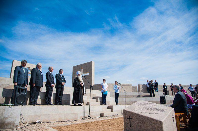 Под Волгоградом немецкий посол открыл Часовню Мира как символ примирения