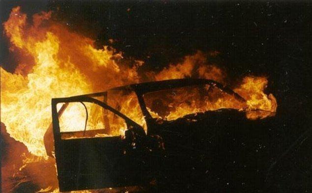 В Городищенском районе сгорели «жигули»