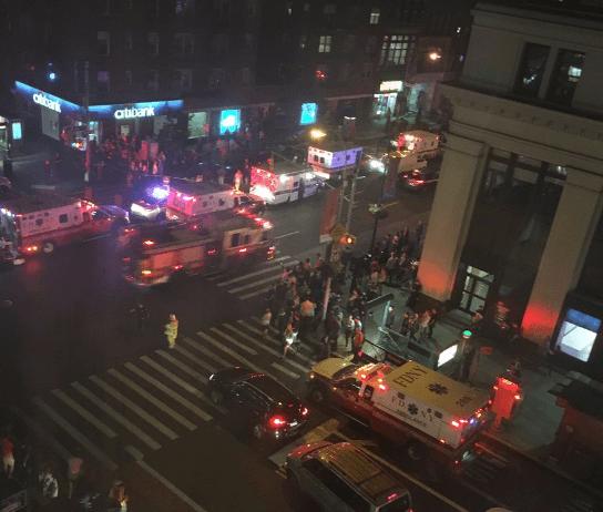 В Нью-Йорке задержали пять человек по делу о взрыве