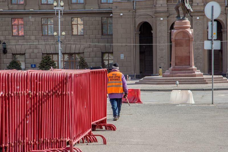 В Волгограде 24 сентября центр города закроют для проезда