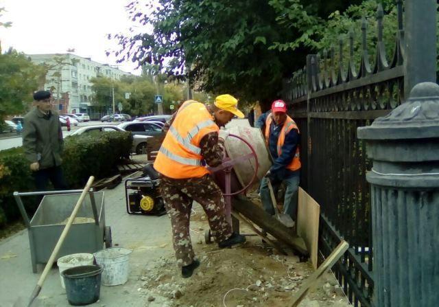 Вокруг сквера Саши Филиппова появится декоративный забор