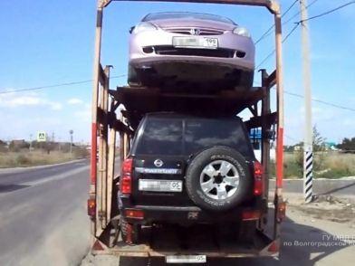Волгоградские полицейские обнаружили похищенную в Москве иномарку